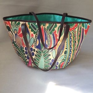 Neiman Marcus Colorful Tote